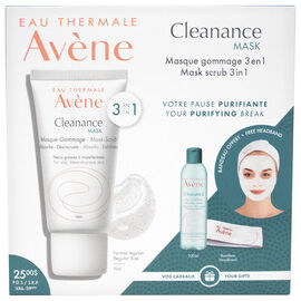 Avene Cleanance Mask Set - 3 piece