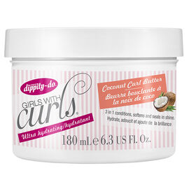 Dippity-Do Girls with Curls Coconut Curl Butter - 180ml