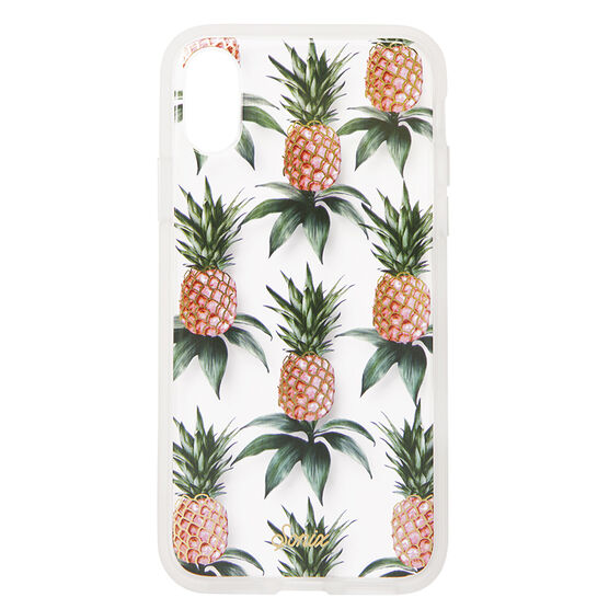 Sonix Clear Coat Case for iPhone X - Pineapple - SX27601310111