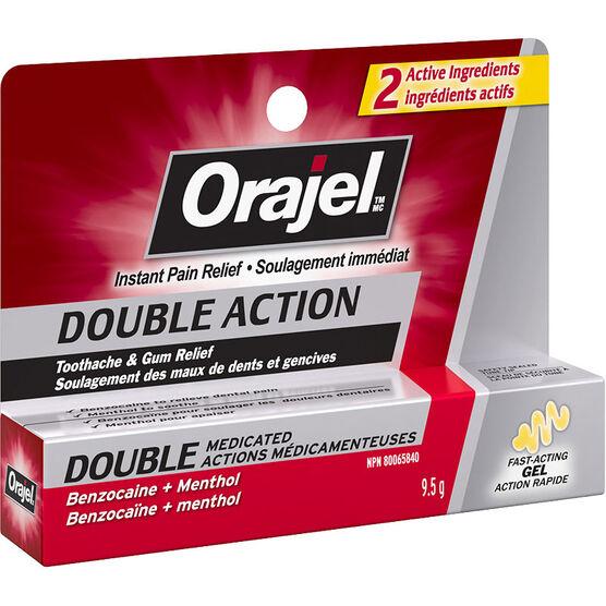 Orajel Double Action Gel Toothache & Gum Relief - 9.5g