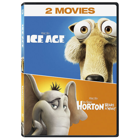 Ice Age / Horton Hears A Who Double Feature - DVD