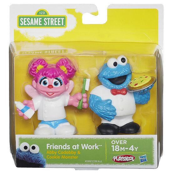 Sesame Street Friends at Work Figures - Assorted - 2 pack