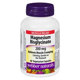 Webber Naturals Magnesium Bisglycinate - 200mg - 60's