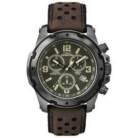 Timex Fashion Chronograph Watch - Brown/Black - TW4B01600CS