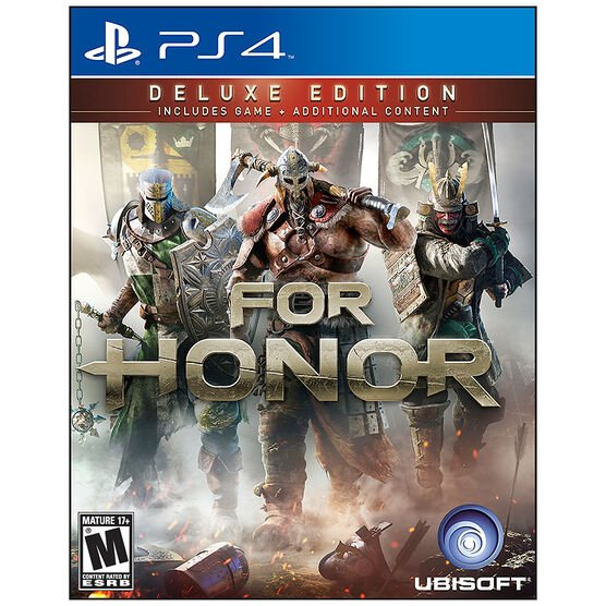 PS4 For Honor: Deluxe Edition