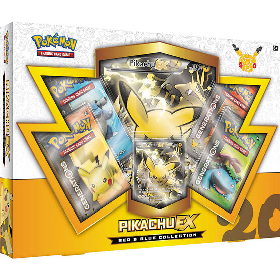 Pokemon Red & Blue Collection -  Pikachu EX