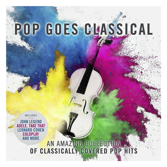 Royal Liverpool Philharmonic Orchestra - Pop Goes Classical - CD