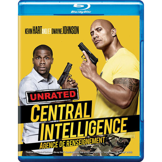 Central Intelligence - Blu-ray