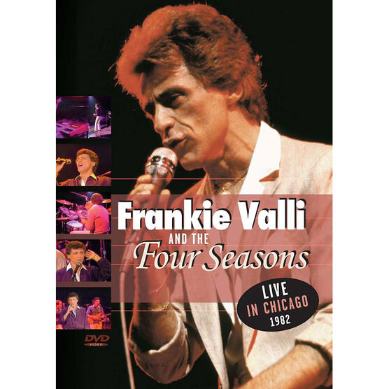 Frankie Valli and the Four Seasons - Live in Chicago 1982 - DVD