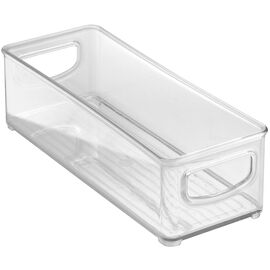 InterDesign Kitchen Storage Bin - Clear - 10.16 x 25.4 x 7.62cm