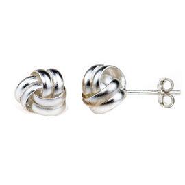 Charisma Sterling Silver Loveknot Earrings