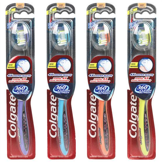 Colgate 360° Clean Between Toothbrush - Soft