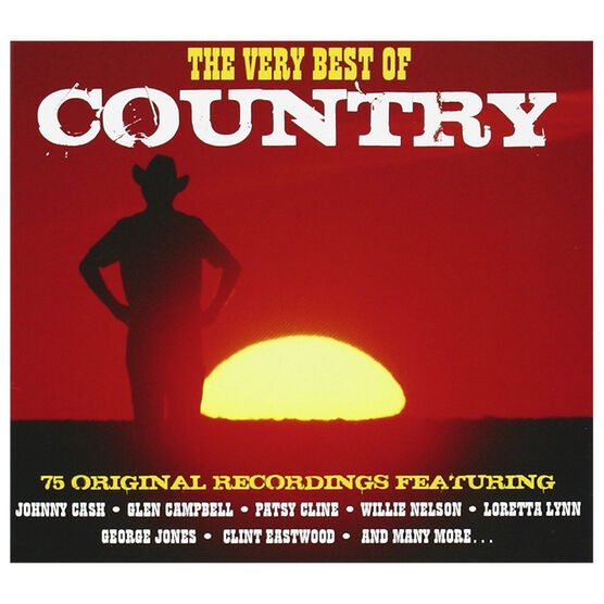 Various Artists - The Very Best of Country - 3 CD