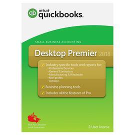 Intuit QuickBooks Desktop Premier - 2018