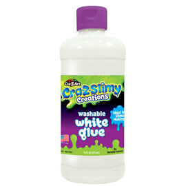 Cra-Z-Slimy Glue - White - 16oz