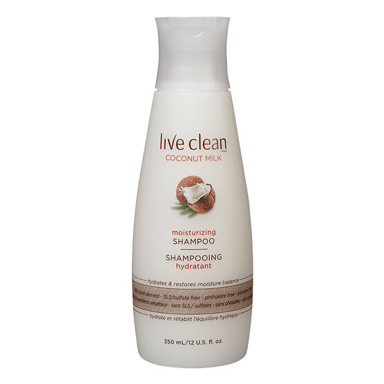 Live Clean Coconut Milk Shampoo - 350ml