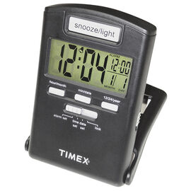 Timex Travel Alarm Clock - Black - 3018T