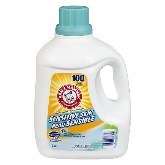 Arm & Hammer 2X Laundry Detergent - Sensitive Skin - 4.43L