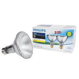 Philips Halogen Par30L Flood Light - 53w - 2 pack