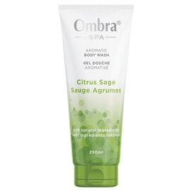 Ombra Spa Aromatic Body Wash - Citrus Sage - 250ml