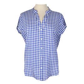 Lava Short Sleeve Woven Shirt - Azul