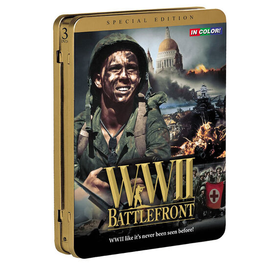 WWII BATTLEFRONT             DVD