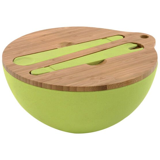Cook 'n' Co Covered Bowl with Serving Set - 2 piece