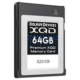 Delkin 64GB XQD Memory Card - DDXQD-64GB