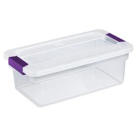 Sterilite ClearView Latch™ Box - 5.7L