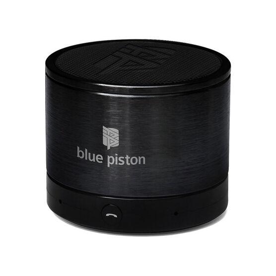 Logiix Blue Piston Bluetooth Speaker - Black - LGX10609