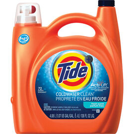 Tide Coldwater Clean HE Liquid Laundry Detergent - Fresh Scent - 4.08L/72 use
