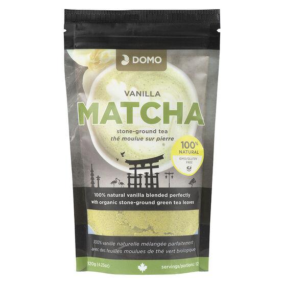 Domo Stone-Ground Tea - Vanilla Matcha - 120g