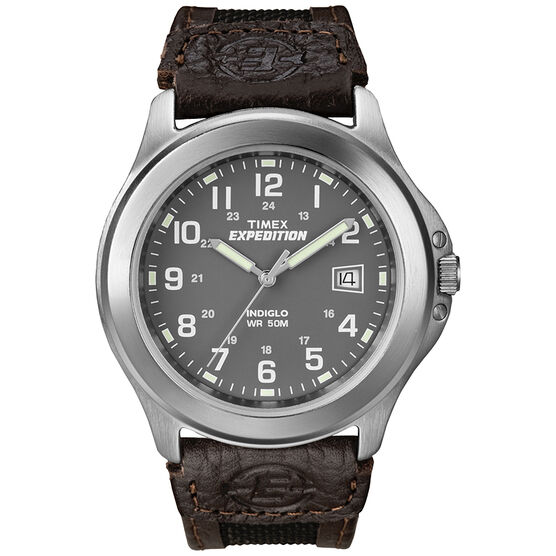 Timex Expedition Full Size Watch - Silver - 40091