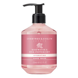 Crabtree & Evelyn Rosewater & Pink Peppercorn Hydrating Hand Wash - 250ml