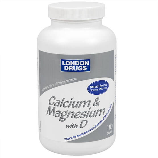 London Drugs Calcium and Magnesium with D - 180's