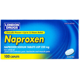 London Drugs Naproxen - 220mg - 100's
