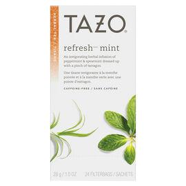 Tazo Herbal Tea - Refresh Mint - 24's