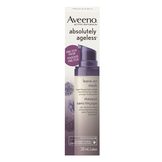 Aveeno Active Naturals Abolutely Ageless Leave on Mask - 38ml