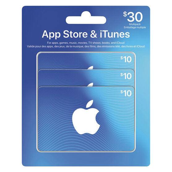iTunes Card - $30