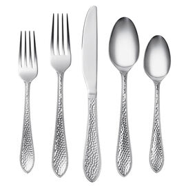 Cambridge Silversmiths Jacoba Hammered 18/0 Flatware Set - 42 piece