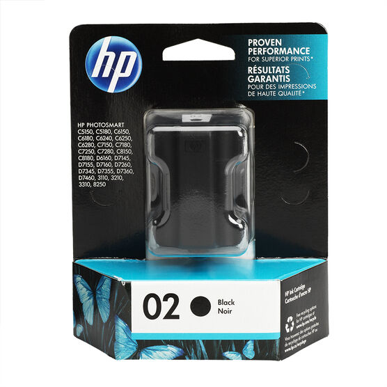 HP 2 Vivera Ink Cartridge - Black - C8721WC140