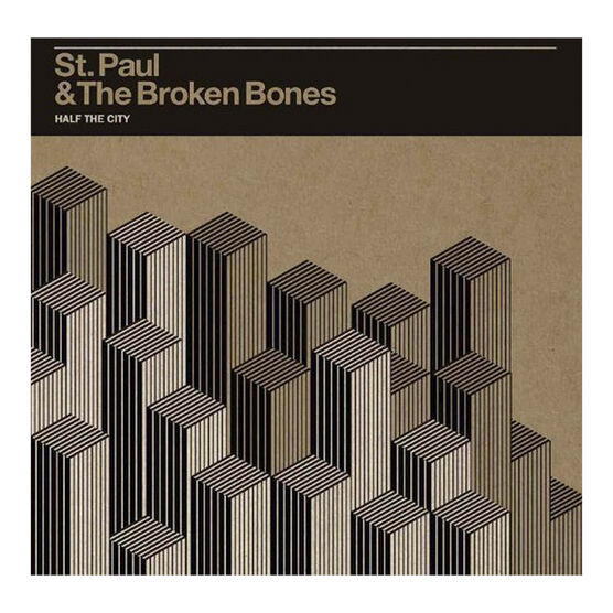 St. Paul and The Broken Bones - Half the City - Vinyl