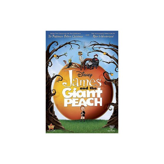 James And The Giant Peach - DVD