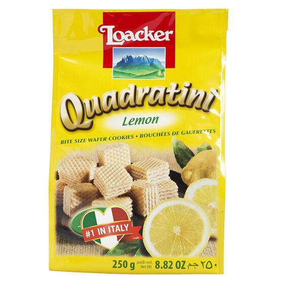 Loacker Quadratini - Lemon - 250g