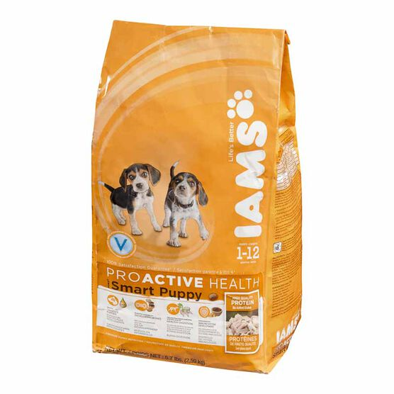 Iams ProActive Health Smart Puppy Dry Dog Food - Original - 2.59kg