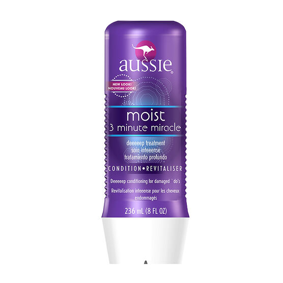 Aussie Moist Deep Treatment 3 Minute Miracle Treatment - 236ml