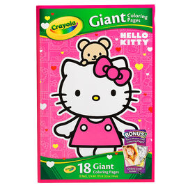Crayola Giant Colouring Pages - Hello Kitty