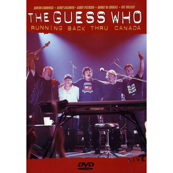 The Guess Who - Running Back Thru Canada - DVD