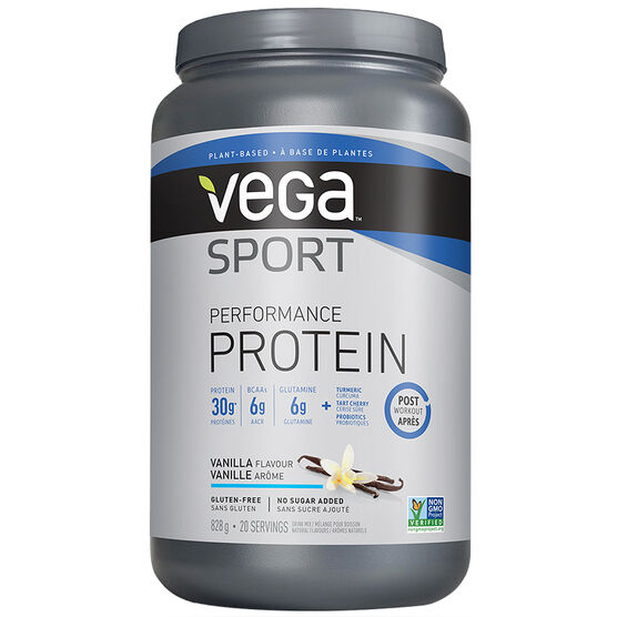 Vega Sport Performance Protein Post Workout - Vanilla - 828g