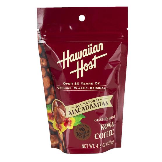 Hawaiian Host Macadamias - Kona Coffee Glazed - 127g